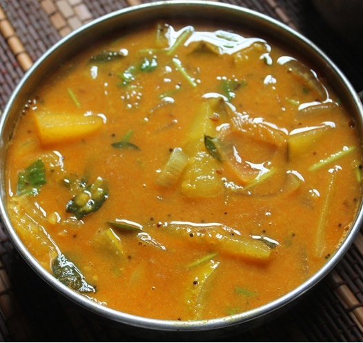 Kerala Sambar_Traditional Naadan Food